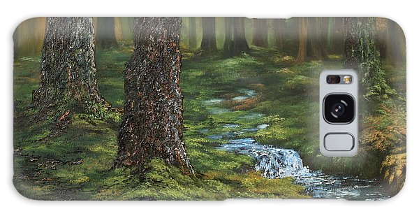 Cannock Chase Forest Galaxy Case by Jean Walker