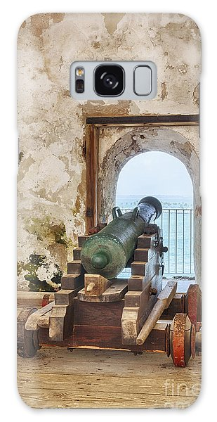 Cannon At Fort San Felipe Del Morro Galaxy Case