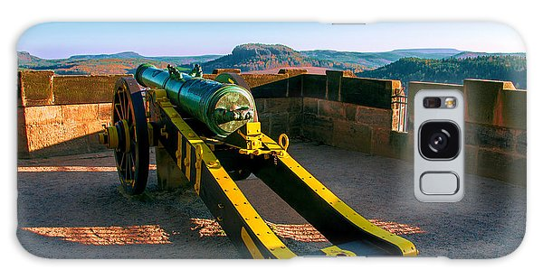 Cannon At The Fortress Koenigstein Galaxy Case