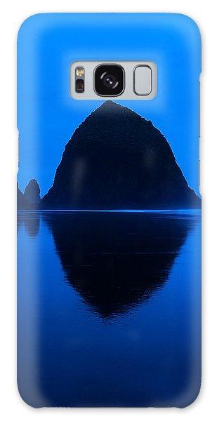 Cannon Beach Blue Galaxy Case