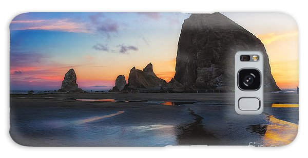 Cannon Beach Seastacks Galaxy Case