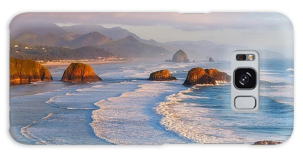 Cannon Beach Sunset Galaxy Case