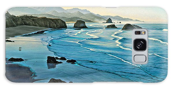 Cannon Galaxy Case - Cannon Beachcombers by Paul Krapf