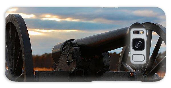 Cannon Of Manassas Battlefield Galaxy Case
