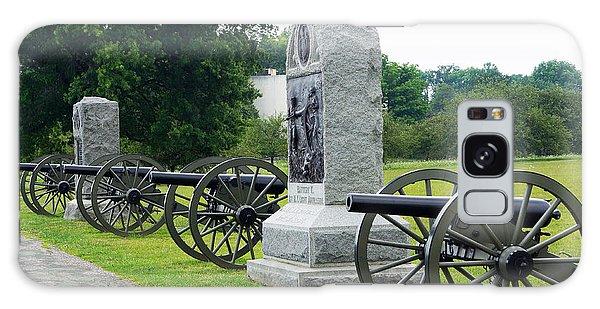 Cannons At Gettysburg Galaxy Case by J Jaiam