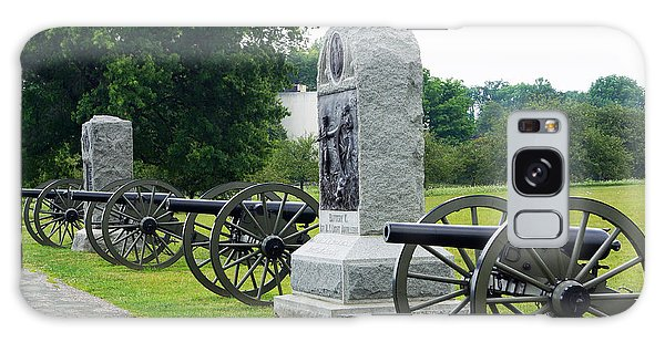 Cannons At Gettysburg Galaxy Case