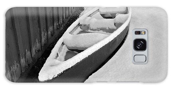 Canoe In The Snow Galaxy Case