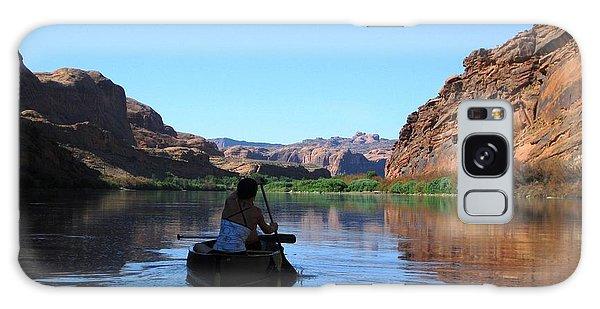 Canoe Trip Galaxy Case