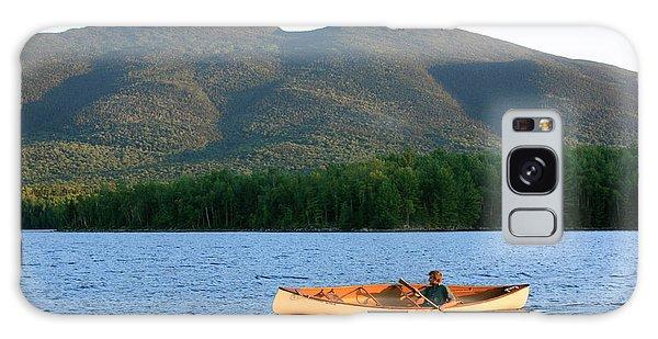 Canoeing Flagstaff Lake Galaxy Case