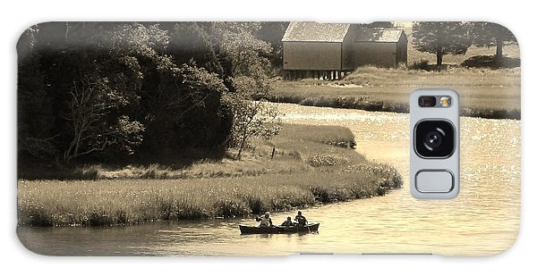 Canoeing On Cape Cod  Galaxy Case
