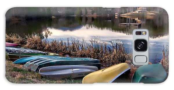 Canoes In Nc Galaxy Case