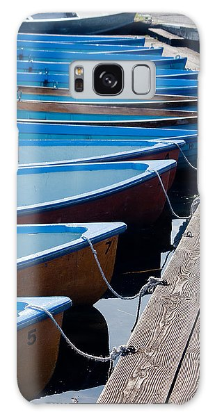 Canoes Galaxy Case