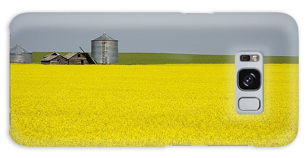 Canola Field Galaxy Case
