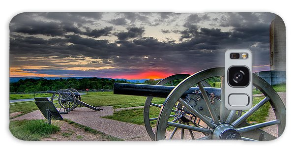 Canon Over Gettysburg Galaxy Case by Andres Leon