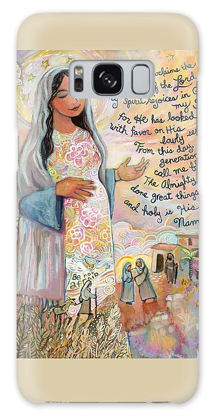 Soul Galaxy Case - Canticle Of Mary by Jen Norton