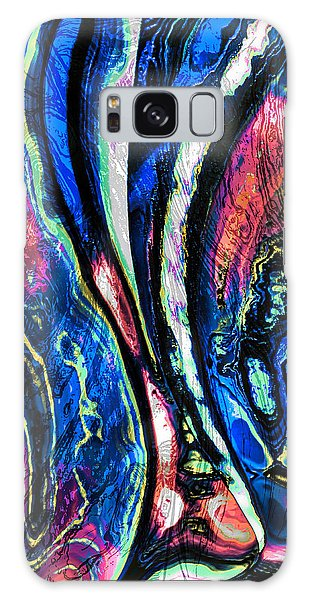 Canvas Of Contemporary Art Galaxy Case by Kellice Swaggerty