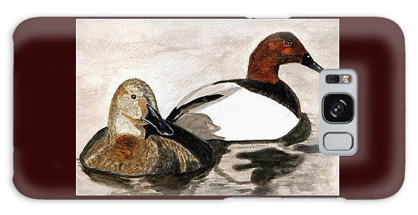 Canvasback Couple Galaxy Case