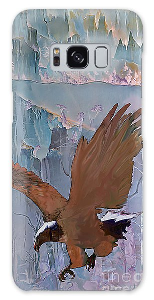 Canyon Flight Galaxy Case by Ursula Freer