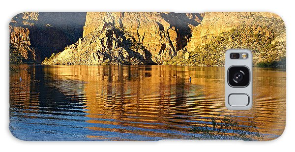 Canyon Lake Reflections Galaxy Case