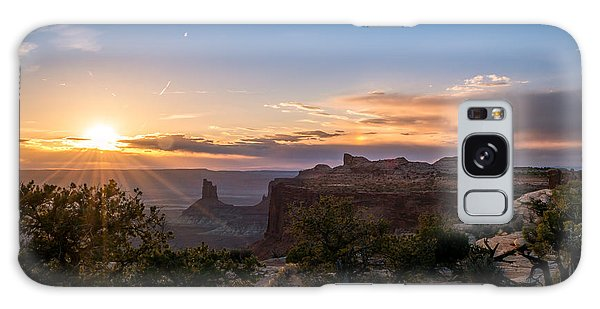 Canyon Lands Beautiful Sunset Galaxy Case