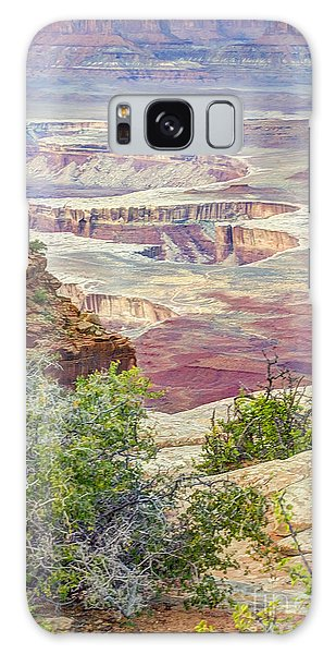Canyon Lands Galaxy Case