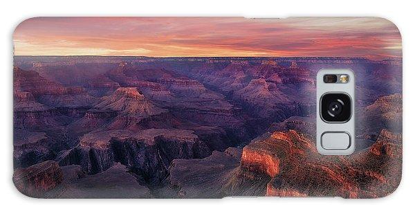 Usa Galaxy Case - Canyon On Fire by Carlos F. Turienzo