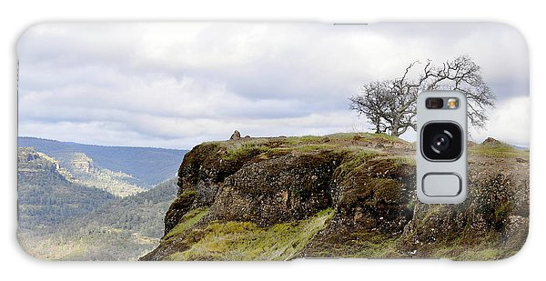 Lone Tree On The Cliff Galaxy Case
