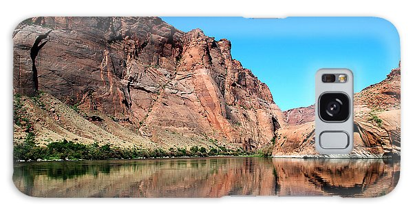 Canyon Reflections Galaxy Case by Robert  Moss