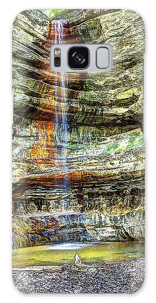 Canyon Starved Rock State Park Galaxy Case