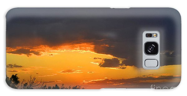 Canyon Sunset Galaxy Case by Joan Hartenstein