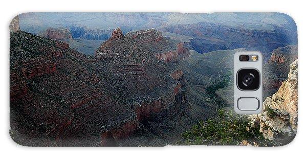 Canyon Sunset Galaxy Case by Robert  Moss