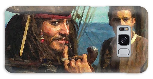 Cap. Jack Sparrow Galaxy Case