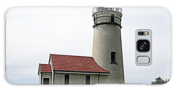 Cape Blanco Lighthouse Galaxy Case by AJ  Schibig