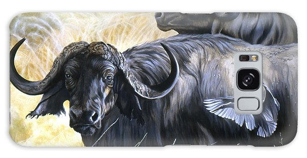 Da206 Cape Buffalo By Daniel Adams Galaxy Case