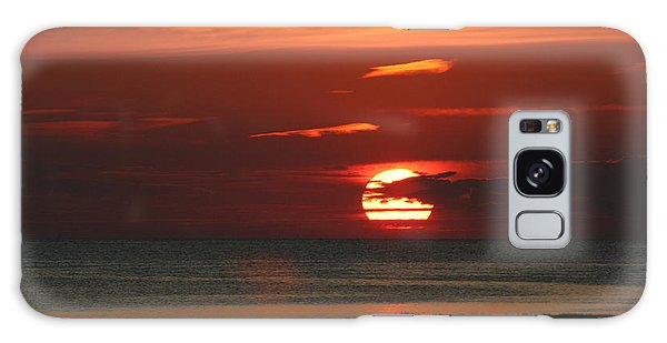 Cape Cod Bay Sunset Galaxy Case