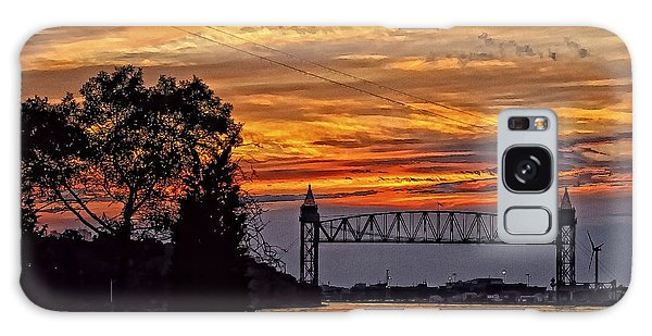 Cape Cod Canal Sunset  Galaxy Case by Constantine Gregory