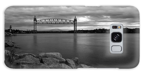 Cape Cod Canal Train Bridge Galaxy Case