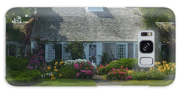 Cape Cod Cottage Galaxy Case