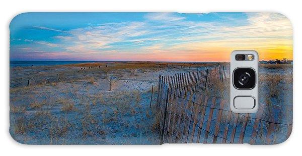 Cape Cod Sunset Galaxy Case