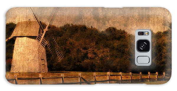 Cape Cod Windmill Galaxy Case