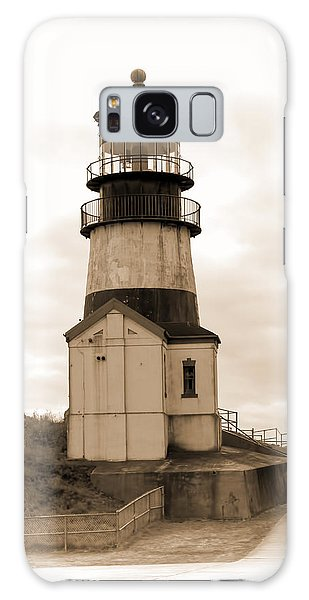 Cape Disappointment Lighthouse Galaxy Case