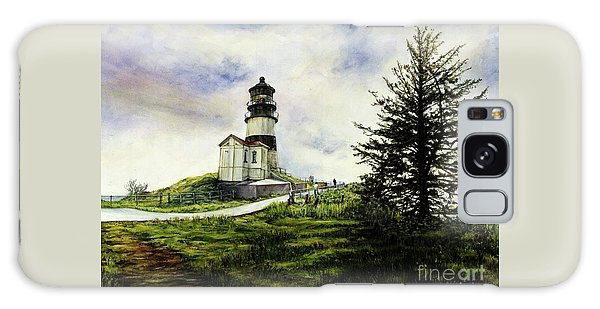 Cape Disappointment Lighthouse On The Washington Coast Galaxy Case