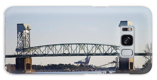 Cape Fear Memorial Bridge Galaxy Case