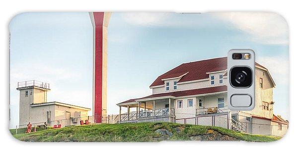 Cape Forchu Lighthouse Galaxy Case