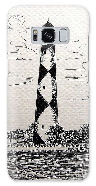 Cape Lookout Lighthouse Nc Galaxy Case