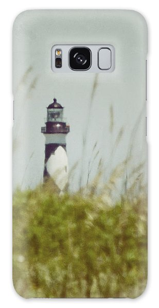 Cape Lookout Lighthouse - Vintage Galaxy Case
