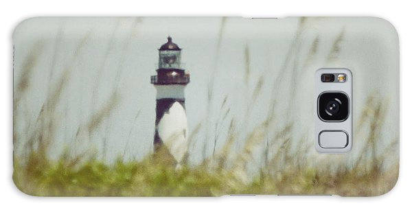 Cape Lookout Lighthouse - Vintage Galaxy Case