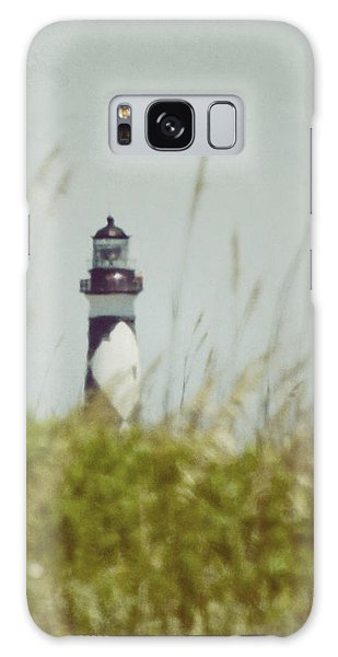 Cape Lookout Lighthouse - Vintage Galaxy Case by Kerri Farley