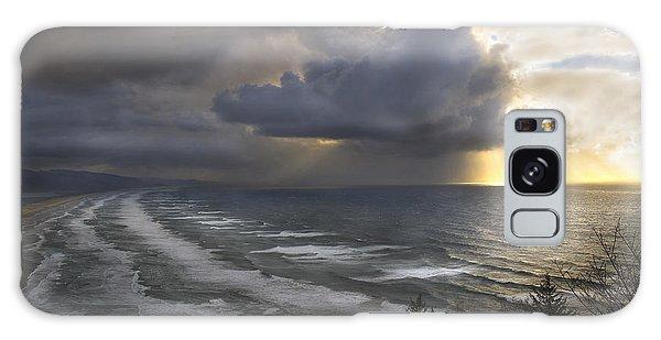 Sunset At Cape Lookout Oregon Coast Galaxy Case