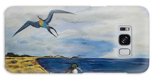 Cape May Gulls Galaxy Case